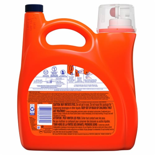 Tide Clean Breeze Liquid Laundry Detergent Perspective: back