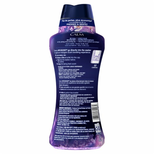 Downy® Infusions Lavender & Vanilla Bean Calm In-Wash Scent Booster Perspective: back