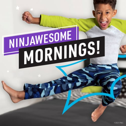 Ninjamas Small/Medium Boy's Nighttime Training Pants Super Pack Perspective: back