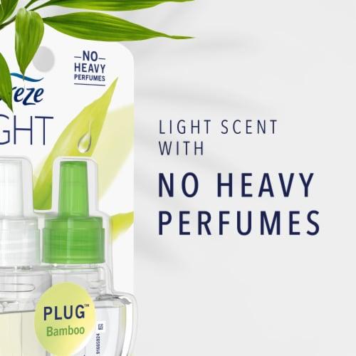 Febreze LIGHT Fade Defy PLUG Lavender Air Freshener Refill Perspective: back
