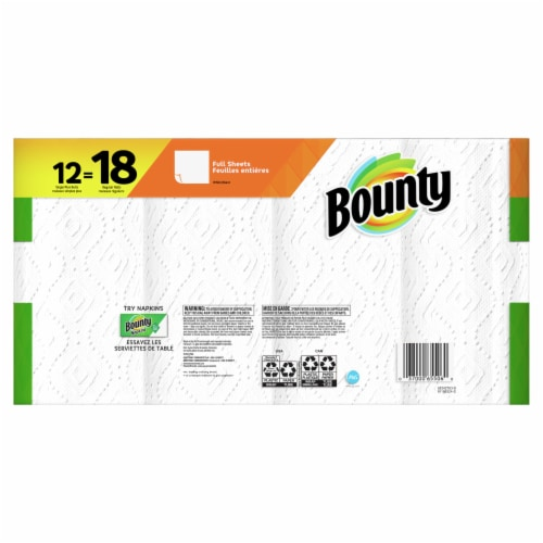 Bounty® Paper Towels Perspective: back