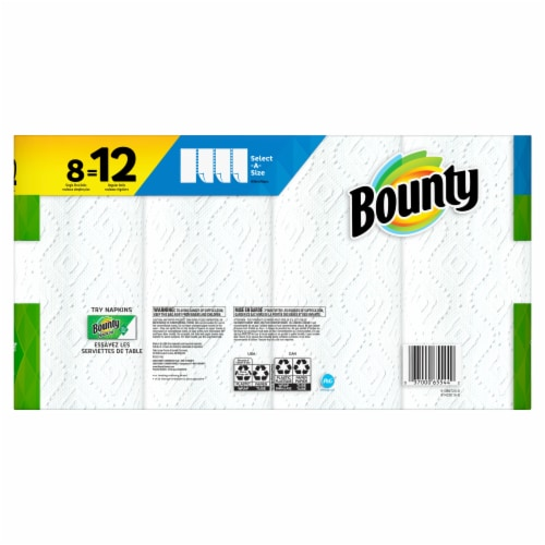 Bounty Select-A-Size Paper Towels Perspective: back