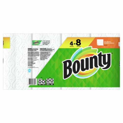 Bounty Base Regular 2-Ply Paper Towels Perspective: back
