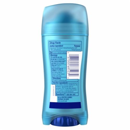 Secret Outlast Almond Oil Solid Antiperspirant Deodorant Stick Perspective: back
