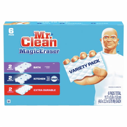 Mr. Clean® Magic Erasers Variety Pack Perspective: back
