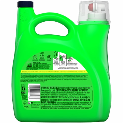 Gain Lavender + AromaBoost Liquid Laundry Detergent Mega Pack Perspective: back
