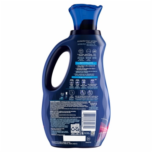 Downy Wrinkle Guard Floral Fabric Conditioner Perspective: back