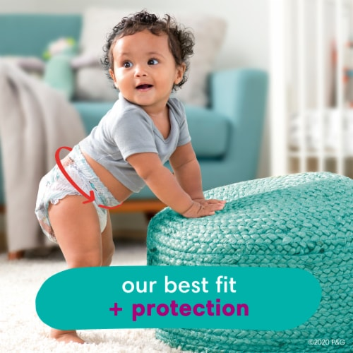 Pampers Cruisers 360 Fit Size 6 Baby Diapers Super Pack Perspective: back