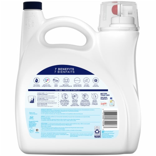 Downy Ultra Free & Gentle Fabric Conditioner Perspective: back