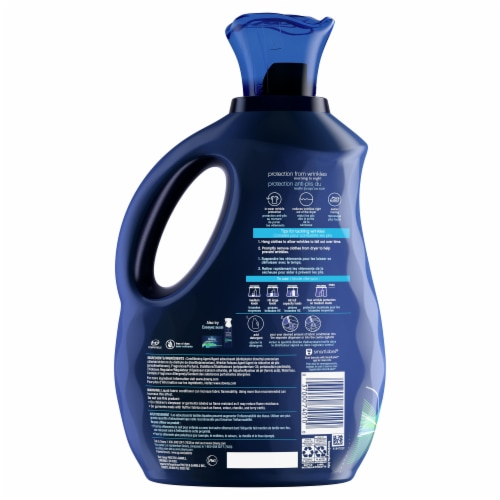 Downy® WrinkleGuard Fresh Scent Liquid Fabric Conditioner Perspective: back