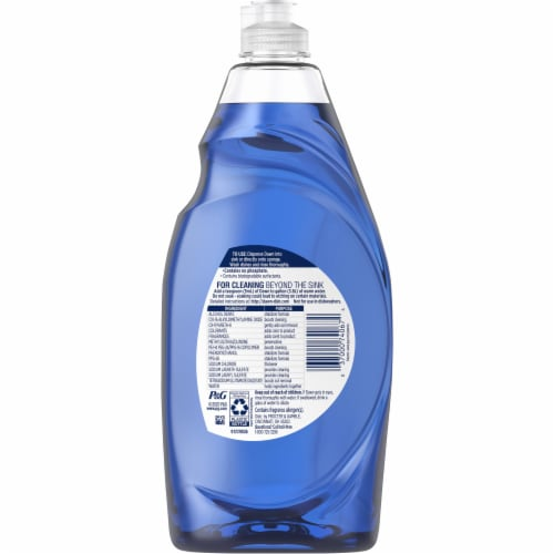 Dawn Platinum Dishwashing Liquid Dish Soap Refreshing Rain Perspective: back