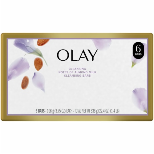 Olay Almond Milk Beauty Bars for Women Perspective: back