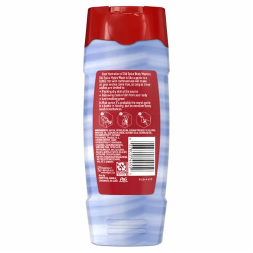 Old Spice Hardest Working Smoother Swagger Hydro Body Wash for Men Perspective: back