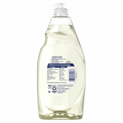 Dawn® Ultra Free & Clear Lemon Essence Scent Dishwashing Liquid Perspective: back