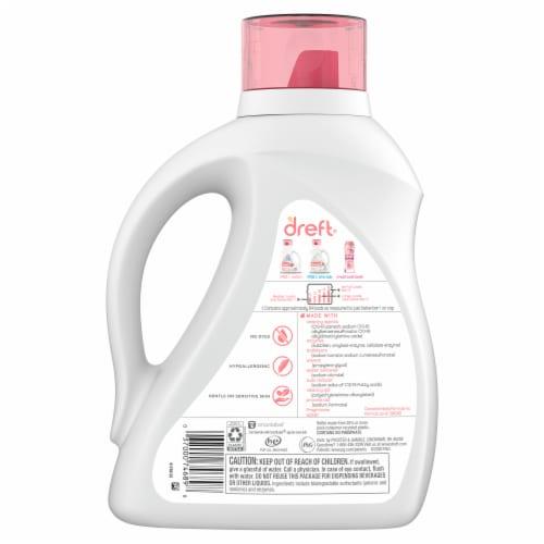 Dreft® Stage 2 Active Baby Liquid Laundry Detergent Perspective: back
