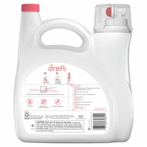 Dreft New Born Liquid Laundry Detergent Perspective: back