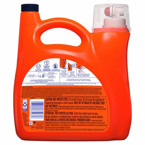 Tide Ultra Oxi Liquid Laundry Detergent Perspective: back