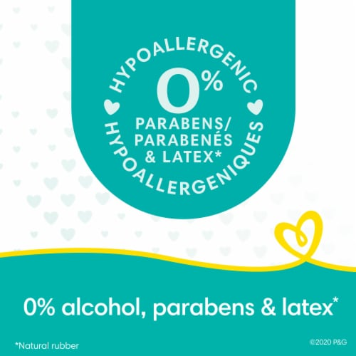Pampers Complete Clean Baby Fresh Scent Wipes Perspective: back