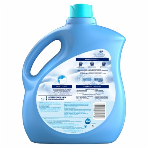 Downy Ultra Cool Cotton Liquid Fabric Conditioner Perspective: back