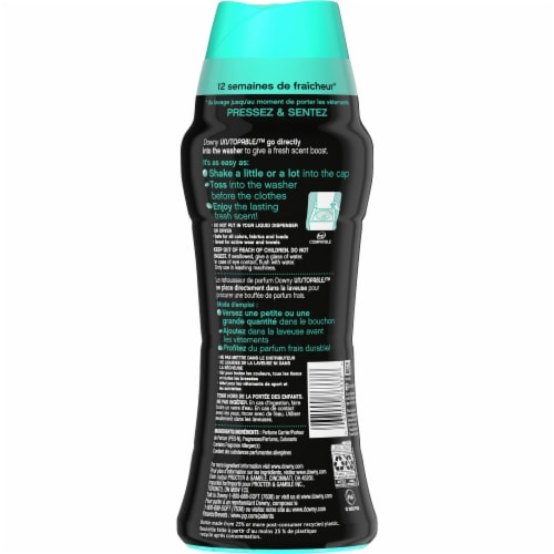 Downy Unstopables Fresh in Wash Scent Booster Perspective: back
