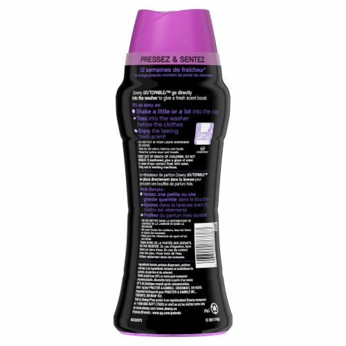 Downy Unstopables Lush In-Wash Scent Booster Perspective: back