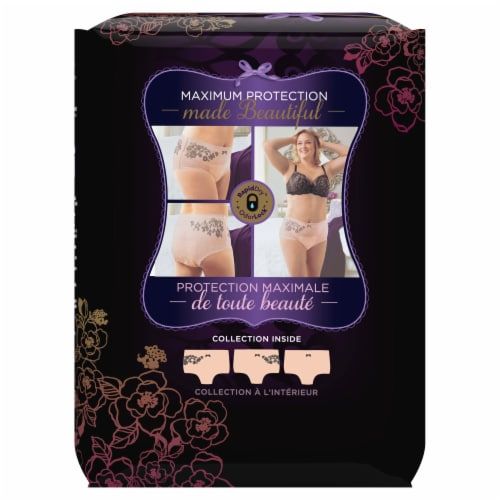 Always Discreet Boutique Large Maximum Incontinence Underwear Perspective: back