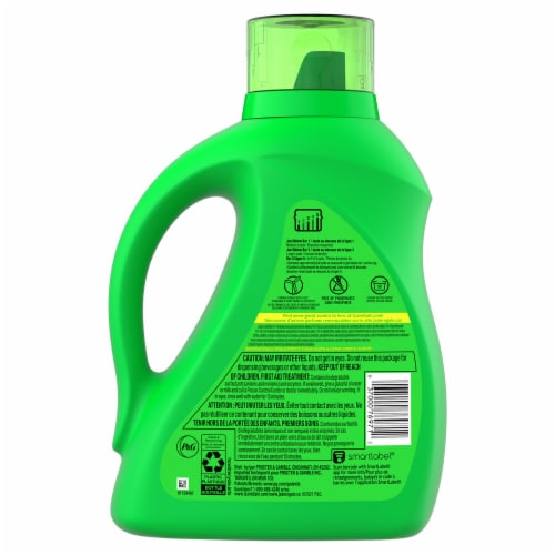 Gain + Aroma Boost Island Fresh Liquid Laundry Detergent Perspective: back