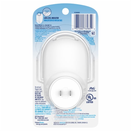 Febreze Plug Scented Oil Warmer Perspective: back