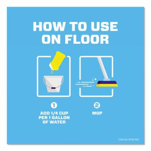Mr. Clean Summer Citrus Antibacterial Multi-Purpose Cleaner Perspective: back