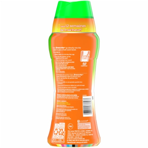 Gain Fireworks Island Fresh In-Wash Scent Booster Perspective: back
