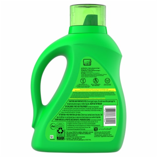 Gain + Aroma Boost Lavender Liquid Laundry Detergent Perspective: back