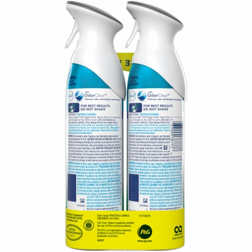 Febreze Air Fresh Scent Pet Odor Defense Air Refresher Perspective: back