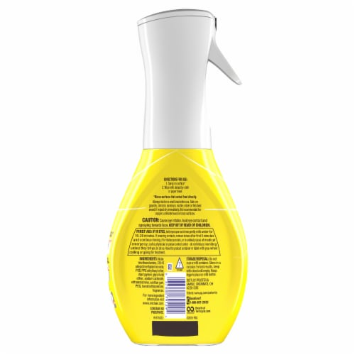 Mr. Clean Clean Freak Lemon Zest Deep Cleaning Mist Multi-Surface Spray Perspective: back