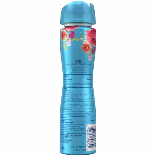 Secret Paris Rose Invisible Spray Antiperspirant for Women Perspective: back