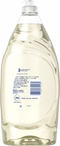 Dawn Ultra Pure Essentials Lemon Essence Scent Dishwashing Liquid Perspective: back