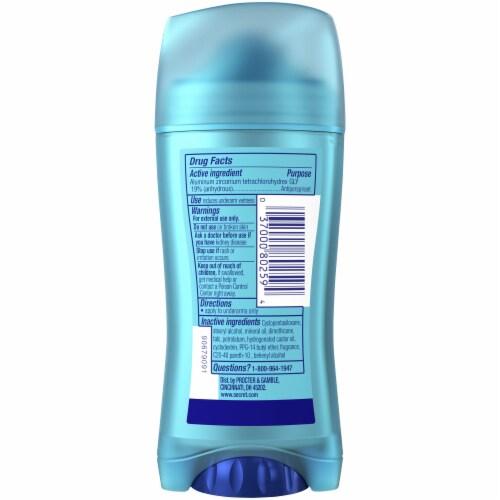 Secret Outlast Invisible Solid Women's Antiperspirant Deodorant Shower Fresh Scent Perspective: back