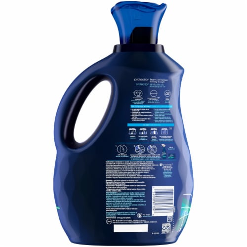 Downy Fresh Wrinkle Guard Fresh Fabric Conditioner Perspective: back