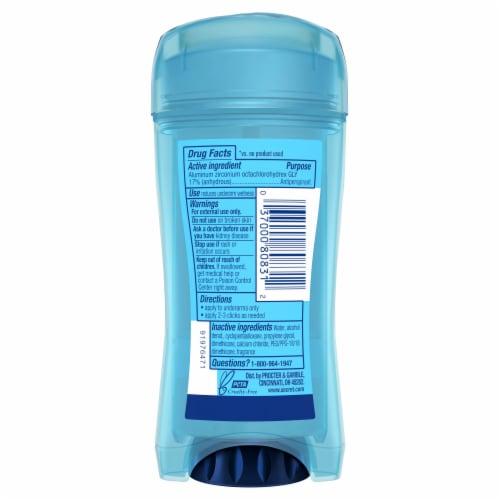 Secret Outlast Clear Gel Antiperspirant Deodorant for Women Unscented Perspective: back
