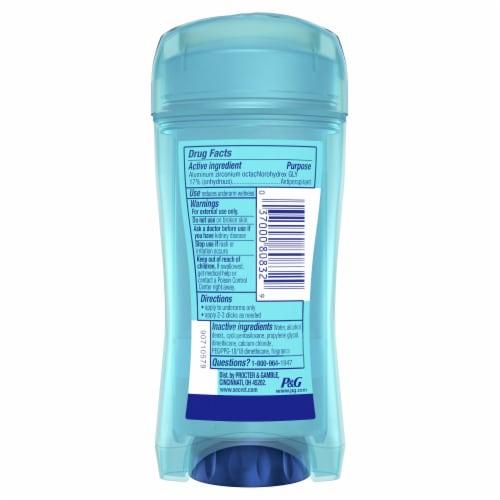 Secret Outlast Sport Fresh Clear Gel Antiperspirant Deodorant Perspective: back