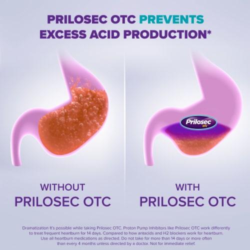 Prilosec OTC Wildberry Acid Reducer Tablets Perspective: back