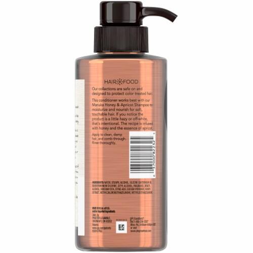 Hair Food Manuka Honey & Apricot Sulfate Free Conditioner Dye Free Moisturizing Perspective: back