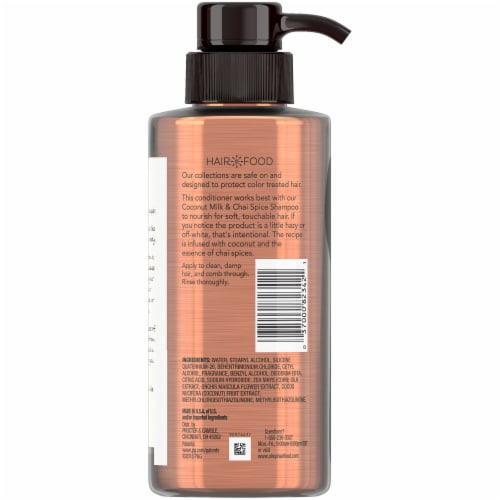 Hair Food Coconut & Chai Spice Sulfate Free Conditioner Perspective: back