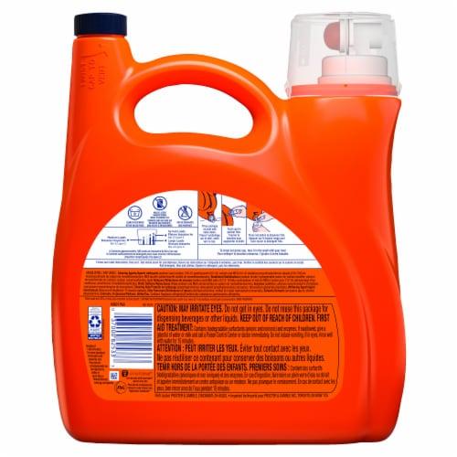 Tide + Febreeze Freshness Spring & Renewal Liquid Laundry Detergent Perspective: back