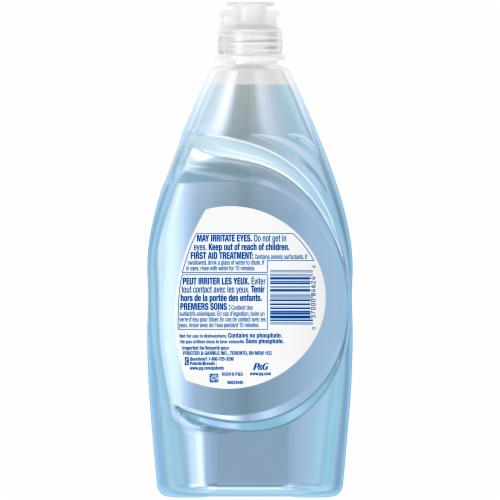Dawn Platinum Refreshing Rain Scent Dishwashing Liquid Perspective: back