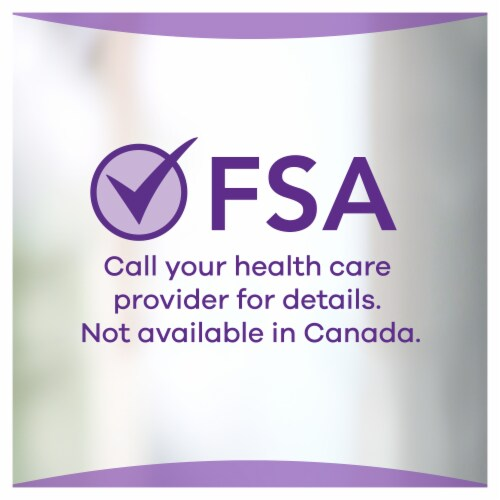 Always Discreet Size 6 Extra Heavy Bladder Leak Pads Perspective: back