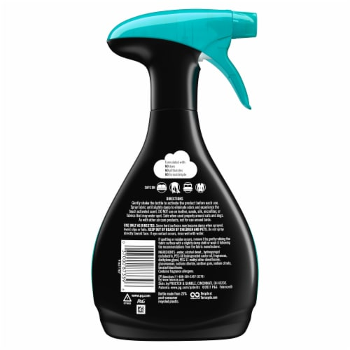 Febreze Unstopables Fresh Scent Touch Fabric Spray Perspective: back