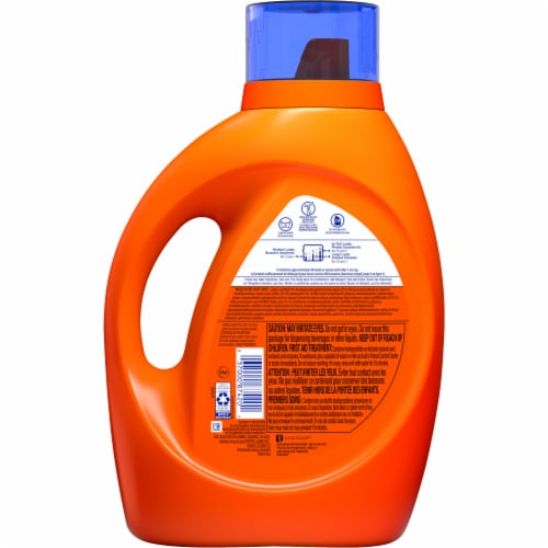 Tide Laundry Detergent Liquid Coldwater Clean Fresh Scent HE Turbo Clean 59 loads Perspective: back