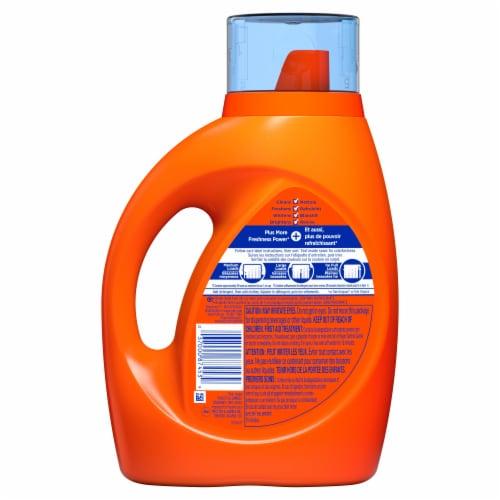 Tide® Plus Downy April Fresh Liquid Laundry Detergent Perspective: back