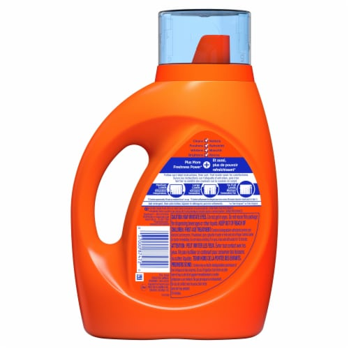 Tide Plus a Touch of Downy April Fresh Liquid Laundry Detergent Perspective: back