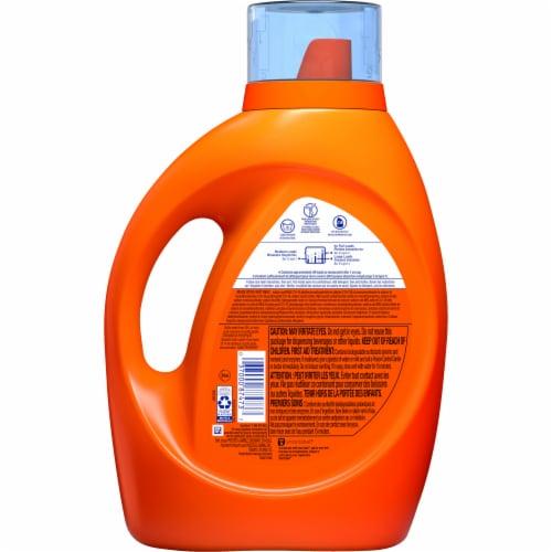 Tide Plus Downy April Fresh Liquid Laundry Detergent Perspective: back